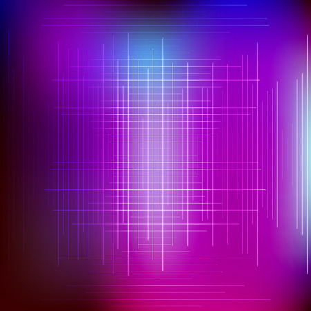 Abstract glowing background with neon lines and lights.