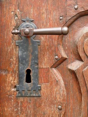 old handle photo