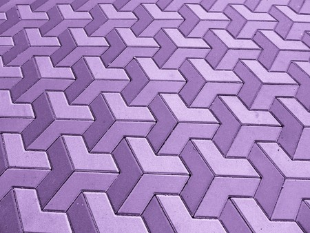 flagging: violet background with nice pattern of cobblestones