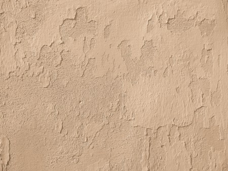 background of chipped old light brown wall Stock Photo