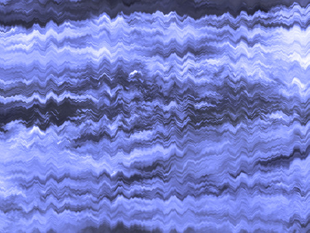 shivering: Abstract background with pattern of irregular shivering waves in blue tones Stock Photo
