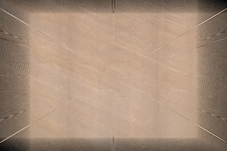 framing: abstract beige background with darker framing and soft pattern