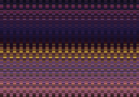 abstract background with pattern of rectangles in blue, purple and yellow tones Stock Photo