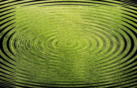 background with circles in green tones