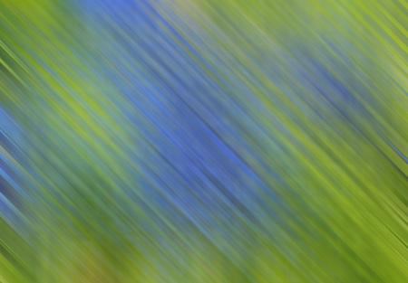 線形図形の斜めに行くと緑と青の背景