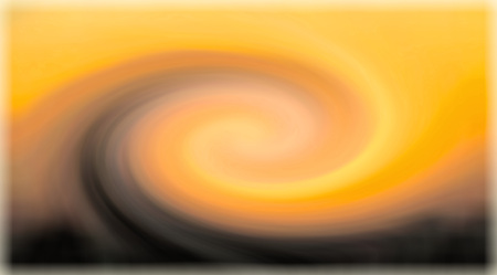 abstract background with rotating spiral in yellow, orange and gray colors Banco de Imagens