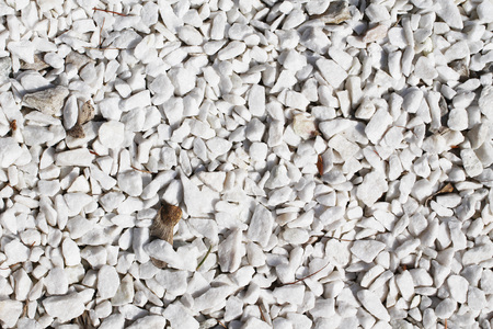 a lot of small white stones useful as background
