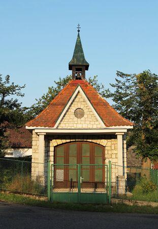 small old chapel in Ledecko, Czech Republic