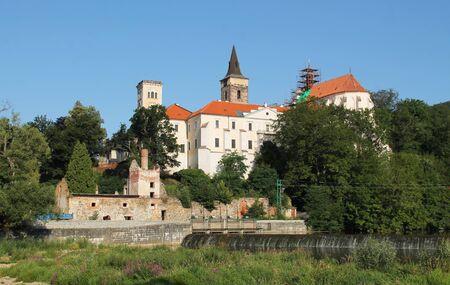 old monastery on sunny summer day in Sazava, Czech Republic Reklamní fotografie