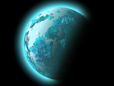 fantasy planet photo