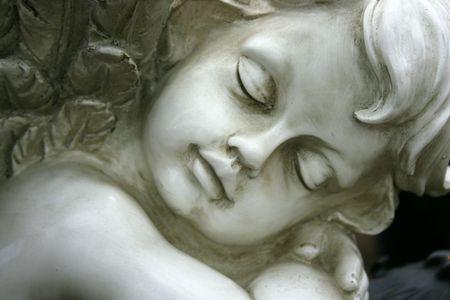 angel statue: Angel Stock Photo