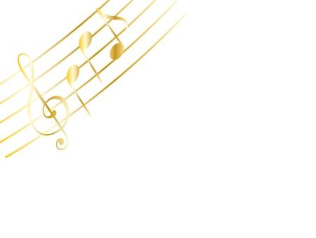sheet music: music