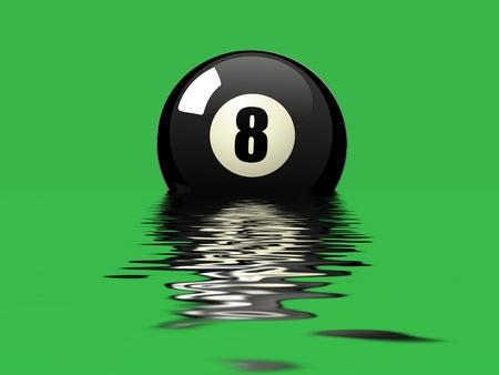 snooker hall: pool game