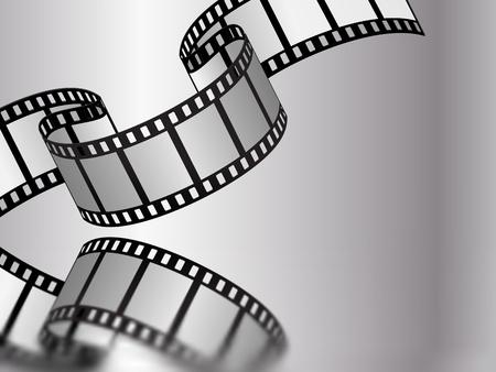 movie film reel: pel�cula