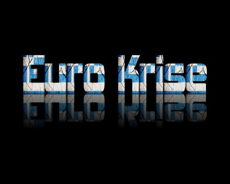 concurs: Euro crisis 3d Word Greece