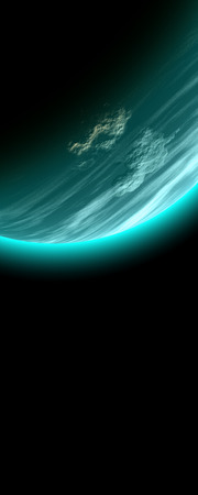globally: Blue Moon Stock Photo