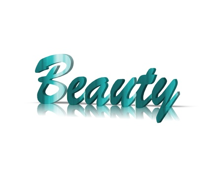 anti age: beauty 3d word