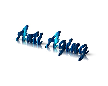 anti age: antiaging 3d word