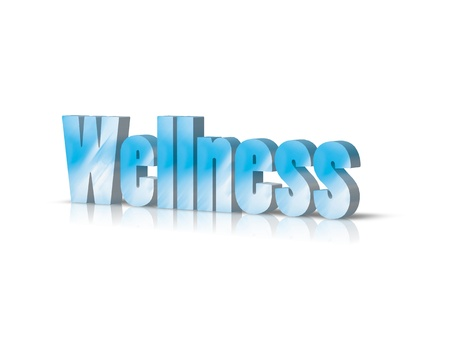 activ: wellness 3d word
