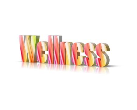 activ: wellness 3d word