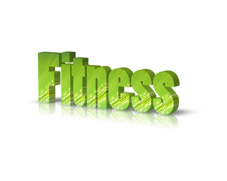 activ: fitness 3d word