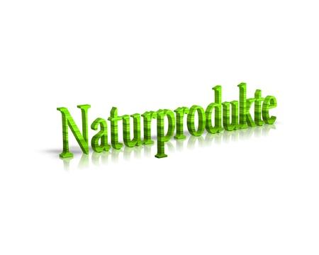 productos naturales: Productos Naturales 3d palabra