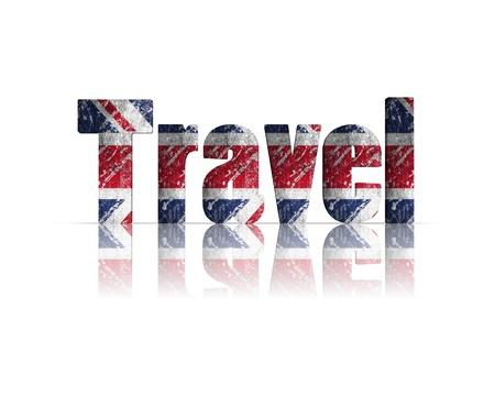 britan: Travel 3d word