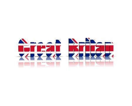 britan: Great Britan 3d word
