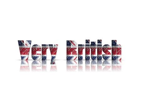 britan: very British word 3d