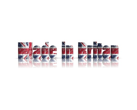 britan: made in 3D Word britan