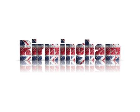 britan: Birmingham 3d word