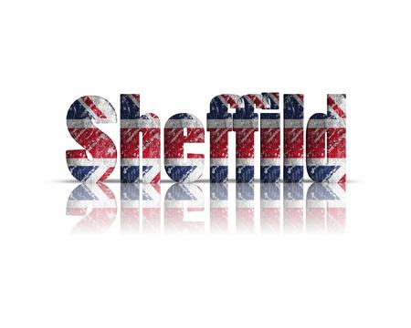 britan: sheffild 3d word