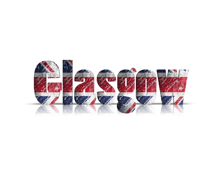 britan: glasgow 3d word