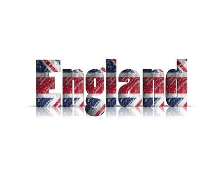 britan: england 3d word