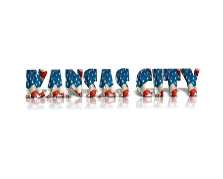 KANSAS: Kansas City 3d word