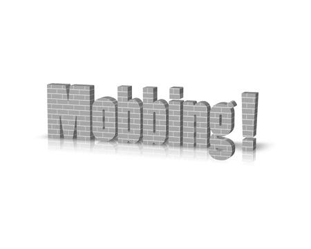 stalking: mobbing 3d word