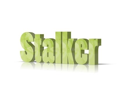 stalking: stalker 3d word