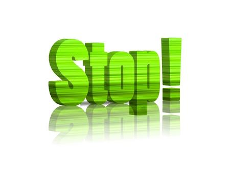 safty: stop 3d word