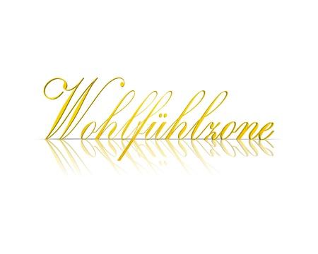 signos vitales: zona de bienestar 3d palabra