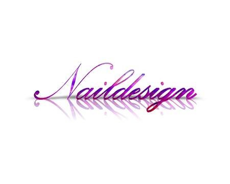 naildesign: Naildesign 3d word