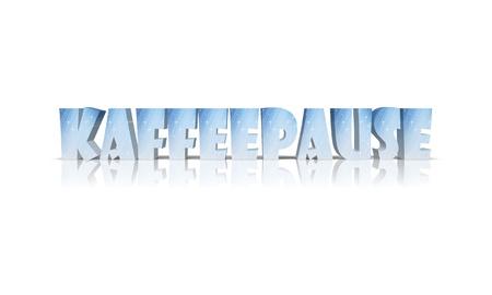 coffeetime: coffeetime 3d word