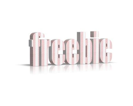 freebie: freebie 3d word