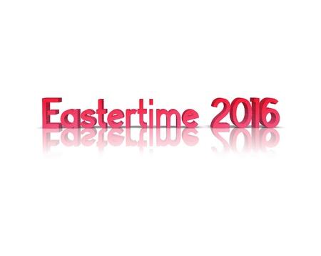 eastertime: eastertime 3d word