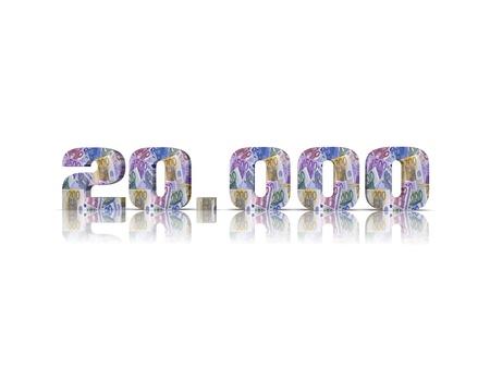 20,000 3d word