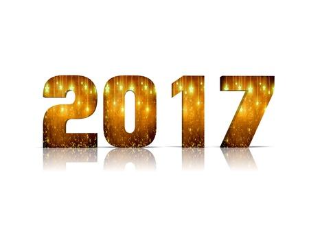 2017 3d word
