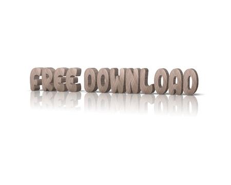 무료 다운로드 3D 단어