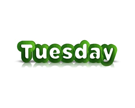 Tuesday 3d word