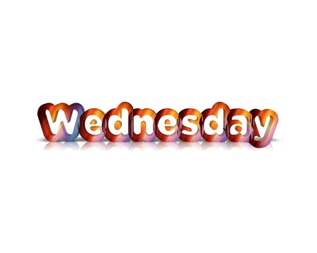 Wednesday 3d word