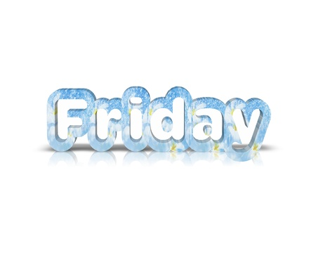 friday 3d word