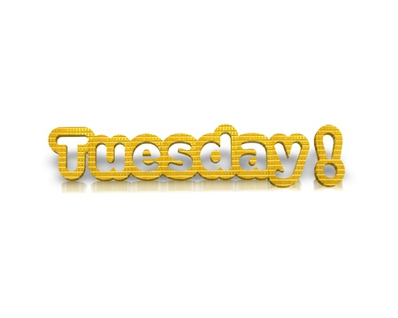 tuesday: Tuesday 3d word